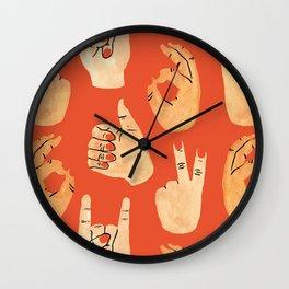 Handsy Wall Clock