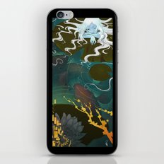 Sprite and Lilies iPhone & iPod Skin