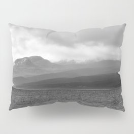 Storm across Kyle of Tongue, Scottish Highlands Pillow Sham