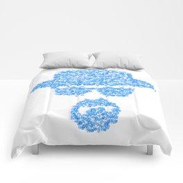 Breaking blue Comforters