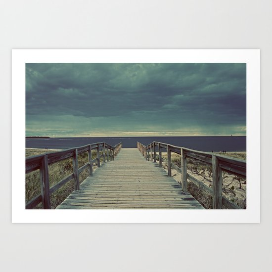 Nautica: Pathway to Horizon Art Print
