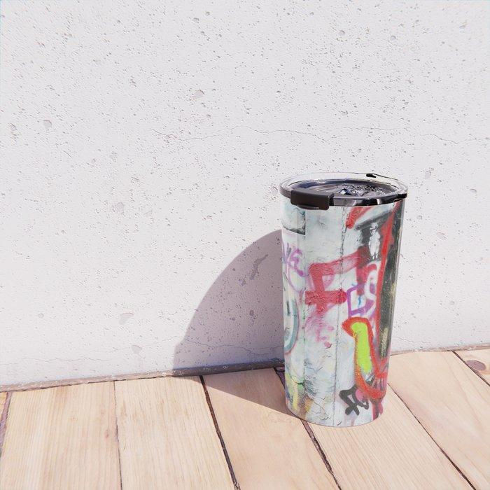 Colorful Graffiti Travel Mug