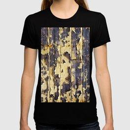 Peeling Yellow Paint T-shirt