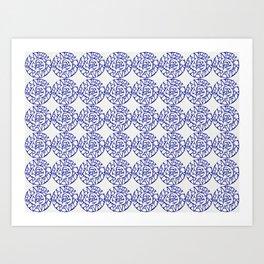 Planepack pattern Art Print