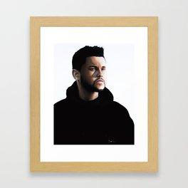 The Weekend Drawing Framed Art Print