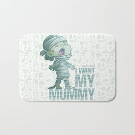 Mummy - Drawlloween2018 Bath Mat