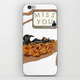 I Miss You! iPhone Skin