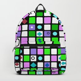 Colorful cage . Backpack