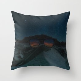 VINTAGE COOLNESS Throw Pillow
