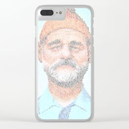 The Aquatic Steve Zissou Clear iPhone Case