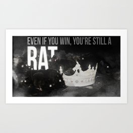 Even if you win... Art Print