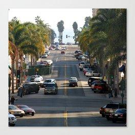 California Street Canvas Print
