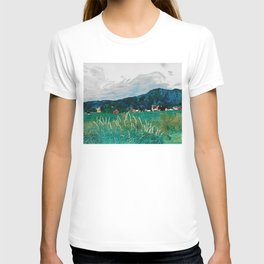 Cows on summer pastures T-shirt