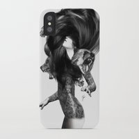 paper iPhone & iPod Cases featuring Bear #3 by Jenny Liz Rome