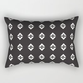 BIG TRIANGLES Rectangular Pillow