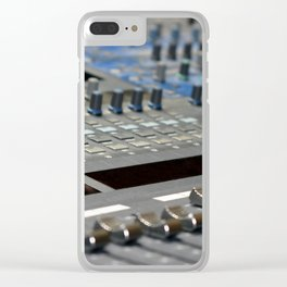 Mixing Console Clear iPhone Case