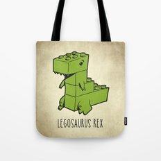 Legosaurus Rex Tote Bag