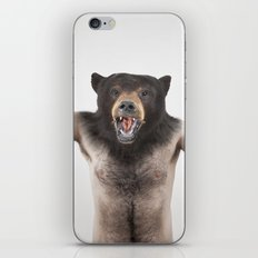 Therianthrope - Angry Bear iPhone & iPod Skin