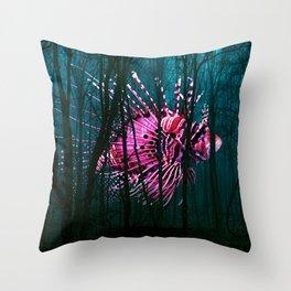 Sleeping Night Krawler Throw Pillow
