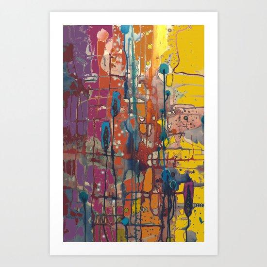 la parade Art Print