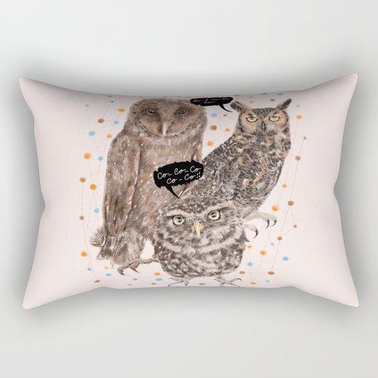 h'Hoo-hoo Rectangular Pillow