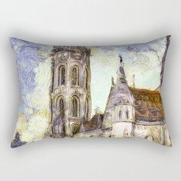 The Church Vincent Van Gogh Rectangular Pillow