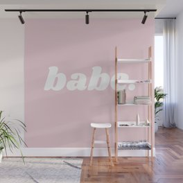 babe Wall Mural
