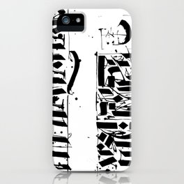 CALLIGRAPHY N°4 ZV iPhone Case