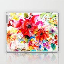 Watercolor garden II Laptop & iPad Skin