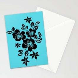 Lilikoi Hibiscus Hawaiian Hula Pareau Design Stationery Cards