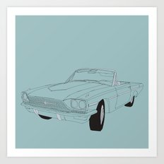 1966 Ford Thunderbird Art Print