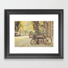 Bike I Framed Art Print
