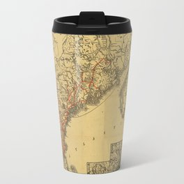 Boston & Maine Railroad 1898 Travel Mug