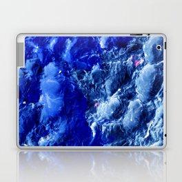 Abstración Océanica Azul Laptop & iPad Skin