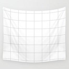WINDOWPANE ((calm gray)) Wall Tapestry