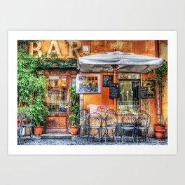Al Fresco Dining Art Print