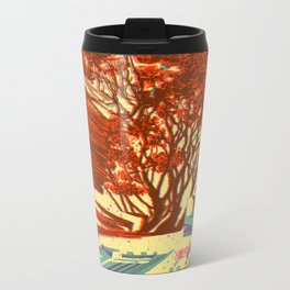 A bird never seen before - Fortuna series Metal Travel Mug