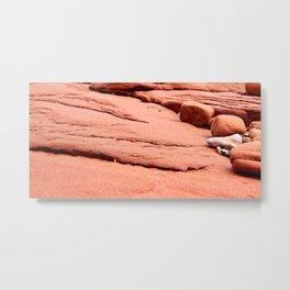 Red Sandstones of PEI Metal Print