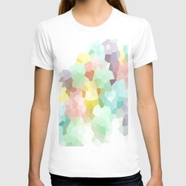 Pastel Abstract T-shirt