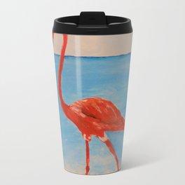 love flamingo Travel Mug