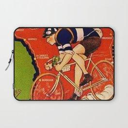 Tour De France Vintage Laptop Sleeve