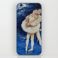 ballet iPhone & iPod Skins featuring ballet by Eva Gudmunds