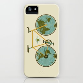 Ride For The World iPhone Case