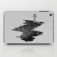 uk iPad Cases featuring Space Diving by nicebleed