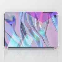 hologram iPad Cases featuring bleu cheez by ARABELLA ART