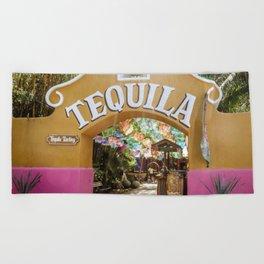 Tequila Tasting Beach Towel