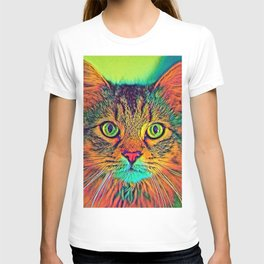 AnimalColor_Cat_ 011_by_JAMColors T-shirt