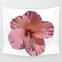 Hibiscus  Flower Wall Tapestry