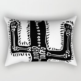 Cactus&Bones Rectangular Pillow