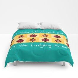 Ladybug Picnic Comforters